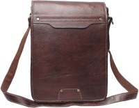 Chanter Men Brown Leatherette Sling Bag