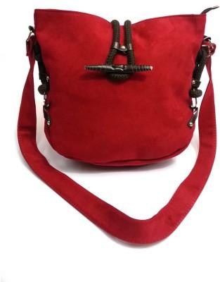 Belladona Girls Red PU Sling Bag