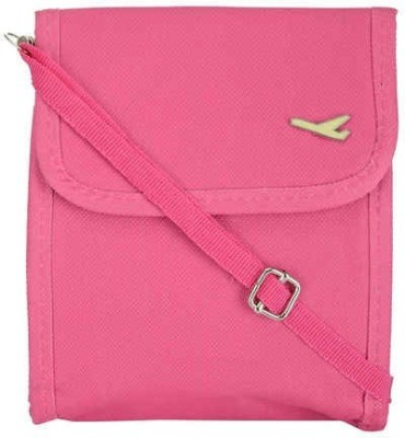 Packnbuy Girls Pink Canvas Sling Bag