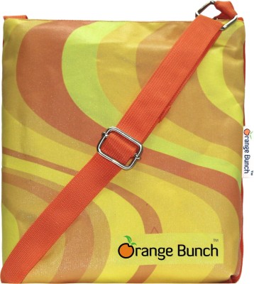 Orange Bunch Women Orange Canvas Sling Bag