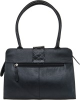 Goodwill Leather Art Women Black PU Shoulder Bag