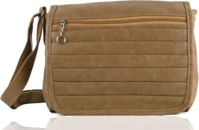 Igypsy Girls, Women Khaki Leatherette Sling Bag