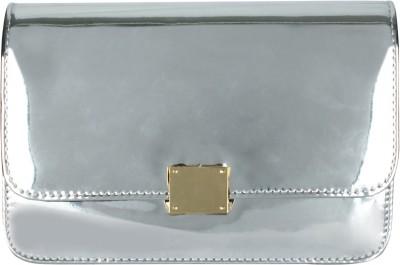 20Dresses Women Silver PU, Metal Sling Bag