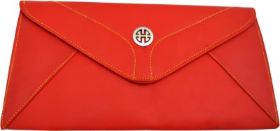Goglamour Women, Girls Evening/Party Red Leatherette Sling Bag