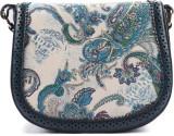 Heaven Deal Women Blue PU Sling Bag