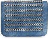 Kazo Women Blue PU Sling Bag