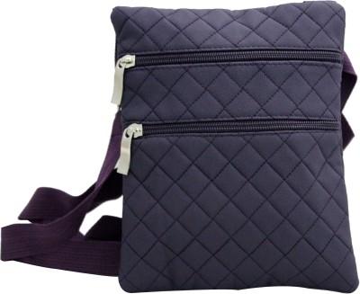 Shopping Feast Men Purple Flex Sling Bag