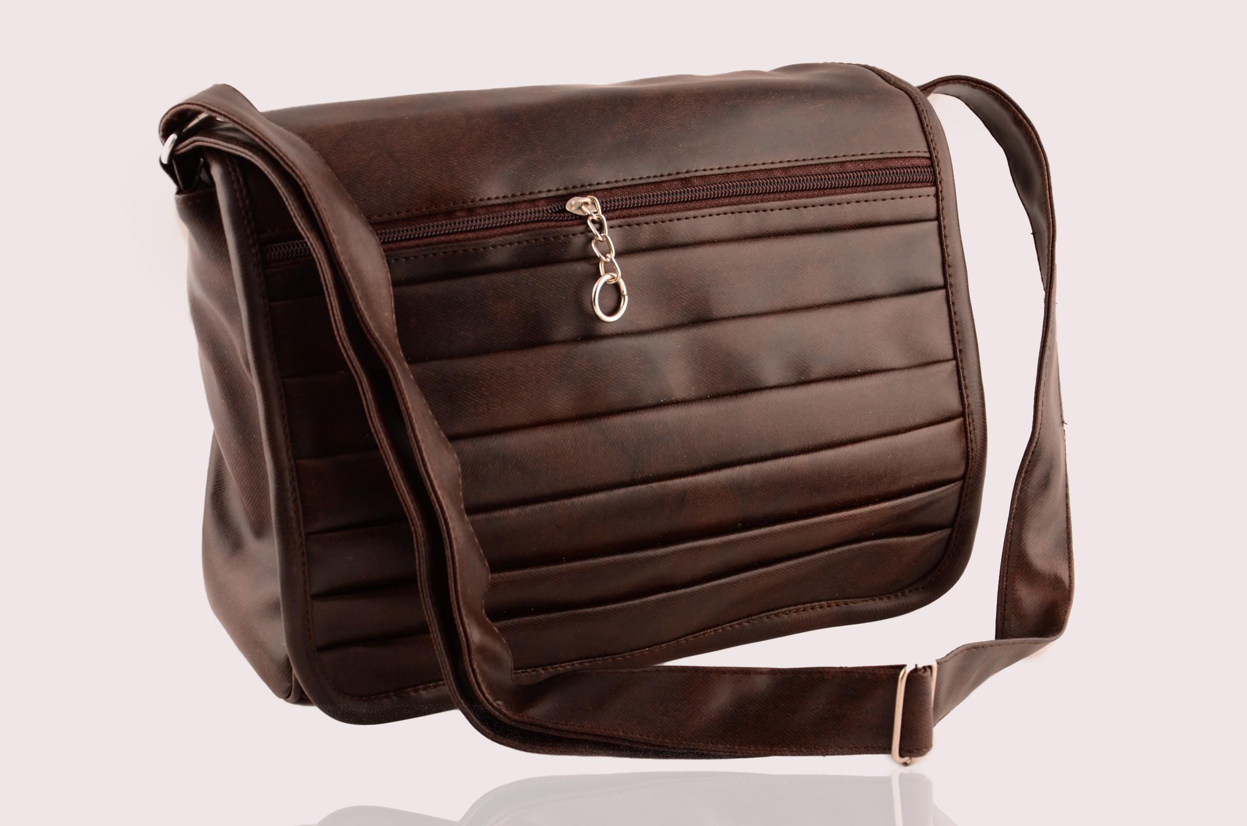 Sling bag below 500 - Saiarisha Girls Brown Pu Sling Bag
