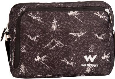 Wildcraft Men Black Polyester Sling Bag