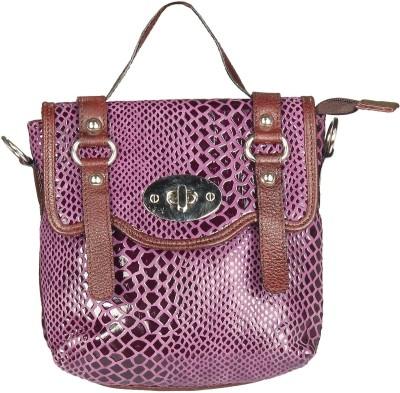 Chanter Women Casual Purple Genuine Leather Sling Bag