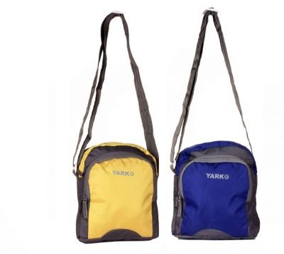 Yark Men Multicolor Nylon Sling Bag