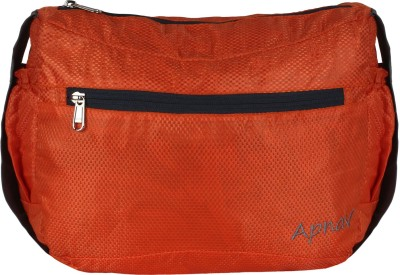 Apnav Boys, Girls, Women Orange Polyester Sling Bag