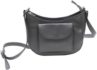 The Parallels Girls, Women Casual, Formal Grey PU Sling Bag