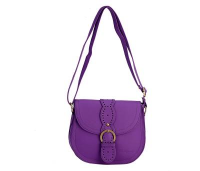 The Zoya Life Girls, Women Purple PU Sling Bag