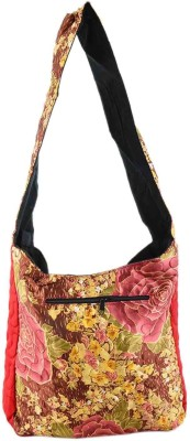 Rajkruti Women Casual Multicolor Cotton Sling Bag