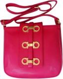 Bhamini Women Pink PU Sling Bag