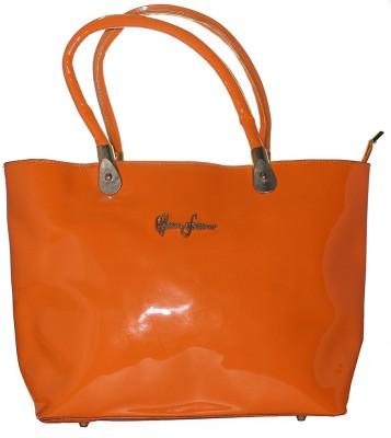 Firangi Women, Girls Orange PU Hand-held Bag