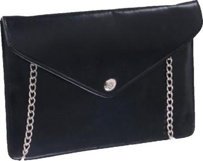 Ellye Girls Evening/Party Black PU Sling Bag