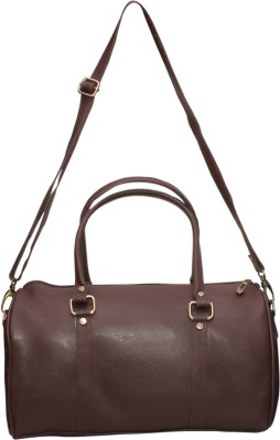 NAAZ BAGS COLLECTION Women Brown Rexine Sling Bag