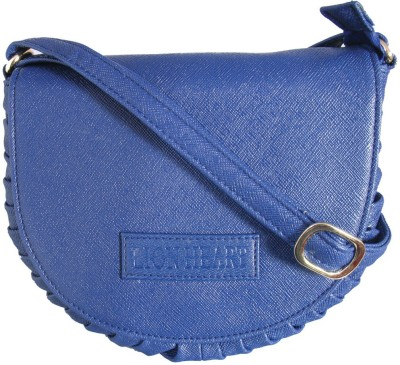 Lion Heart Girls, Women Blue PU Sling Bag