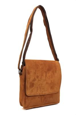 Hobo Women, Girls Brown Genuine Leather Sling Bag