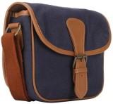 Crapgoos Women Blue Canvas Sling Bag