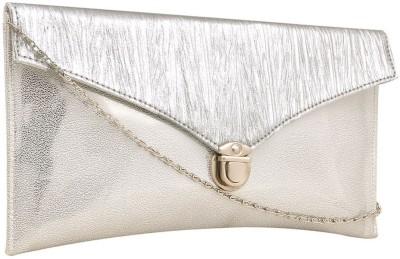 Hawai Women Silver PU Sling Bag