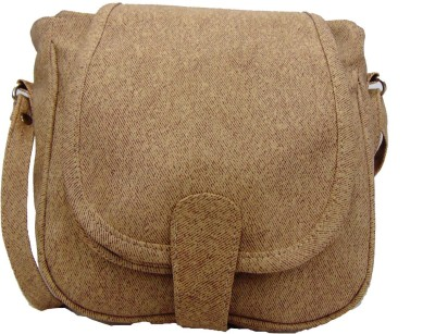 Estoss Women Beige PU Sling Bag