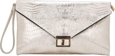 Aliza Women Evening/Party Gold PU Sling Bag