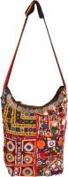 Jaipur Fabric Women Multicolor Cotton Sling Bag