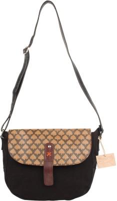 Rub & Style Women Multicolor Genuine Leather Sling Bag