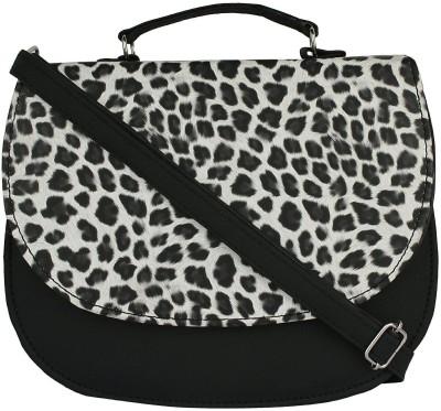 A&P ENTERPRISES Girls Black PU Sling Bag