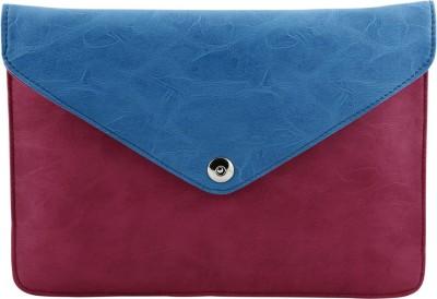 Kraasa Women Casual Blue, Pink Silicon Sling Bag