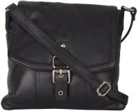 Attachover Services Women Black Genuine Leather Shoulder Bag