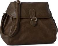 Baggit Women Brown Leatherette Sling Bag