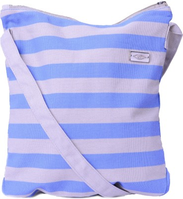Kohl Girls, Women Blue, Grey Canvas Sling Bag