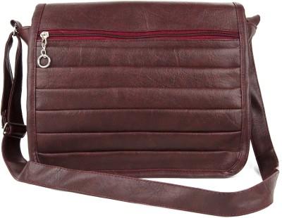 Igypsy Girls, Women Maroon Leatherette Sling Bag