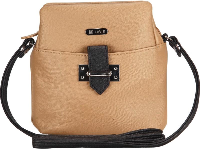 Lavie Women Casual Beige Leatherette Sling Bag 166765a52d9a8