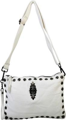 Murcia Women White PU Sling Bag