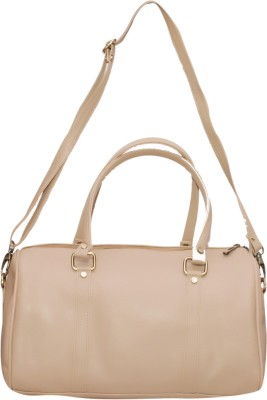 NAAZ BAGS COLLECTION Women Beige Rexine Sling Bag