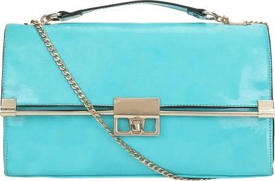 Kawaii Women Blue PU Sling Bag
