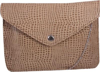 Pinkdivaas Girls, Women Beige Leatherette Sling Bag