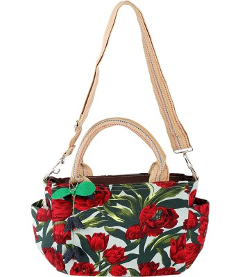 Obvio Women Multicolor Canvas Sling Bag