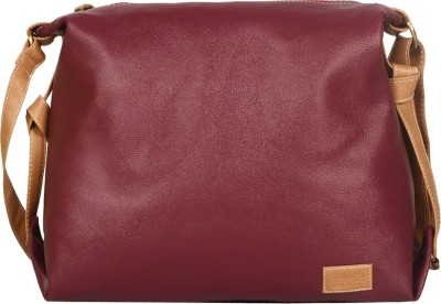 Lapis O Lupo Women Casual Red PU Sling Bag