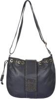 UR CLASS Women Blue Genuine Leather Shoulder Bag