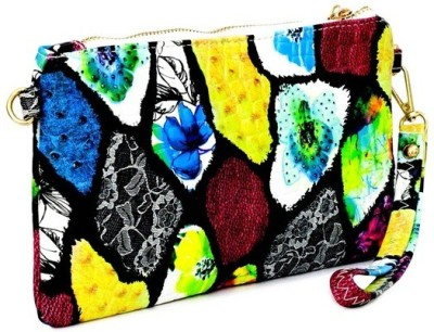 Penguin Women Evening/Party Multicolor PU Sling Bag