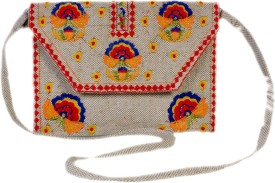 Diwaah Women Casual Multicolor Cotton Satchel