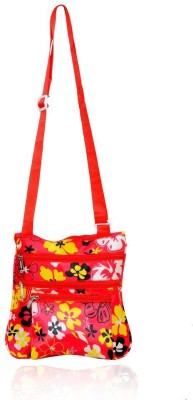 Yark Women Casual Yellow Polyester Sling Bag