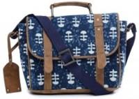 TWINOLOGY Women Blue Cotton Sling Bag