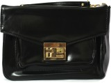 Colors Inc. Women Black Leatherette Slin...